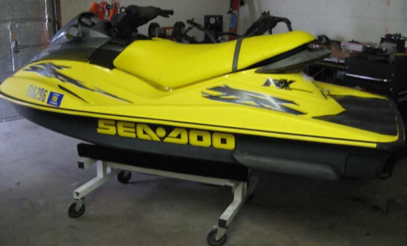 Purchase 00-03 Seadoo RX GTX DI PWC OEM Exhaust Pipe Water Box
