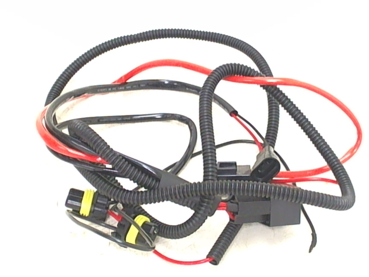 55w 75w hid conversion kit universal single beam relay wiring harness h1 h3 h ebay